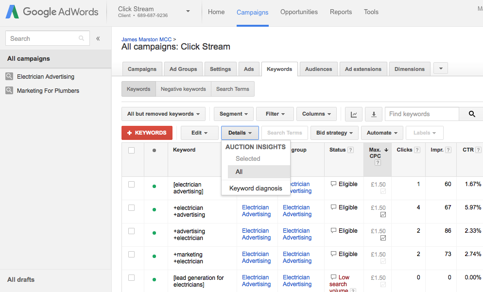 How to set up your Google Adwords account 4